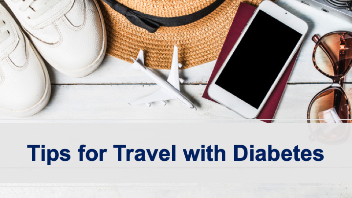 MyDoc Tuesday Tips: Bon voyage travel checklist to better manage your blood sugar