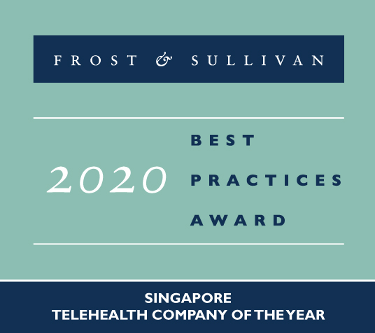MyDoc named 2020 Singapore Telehealth Company of the Year  by Frost & Sullivan