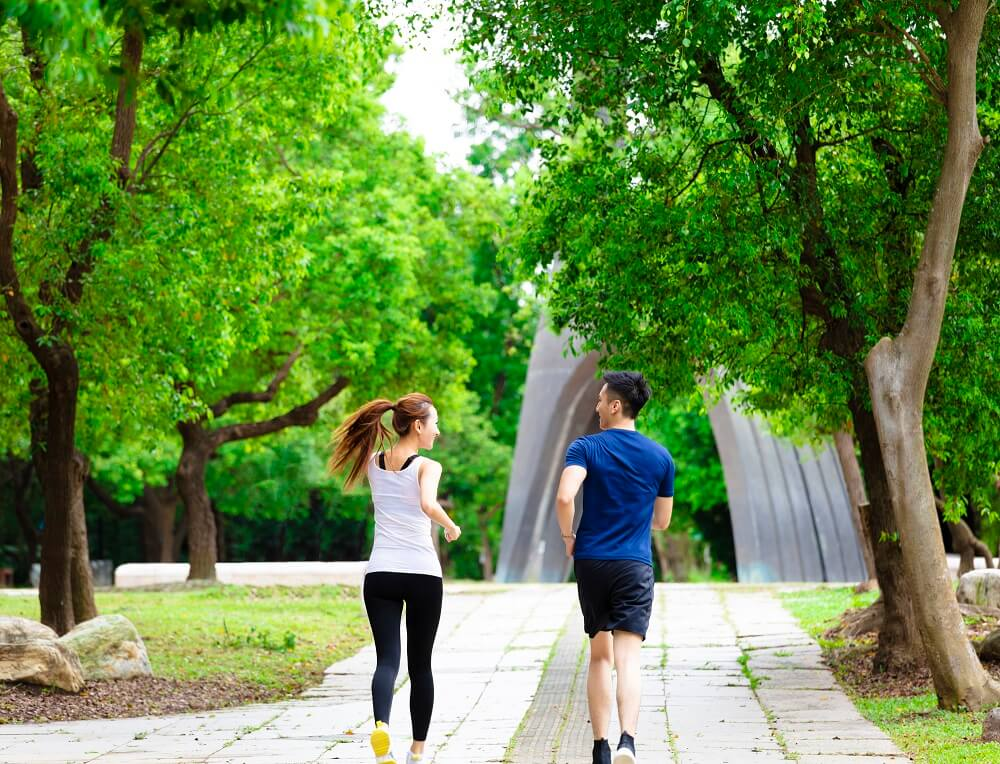 Going for regular exercise, such as jogging, can help prevent erectile dysfunction